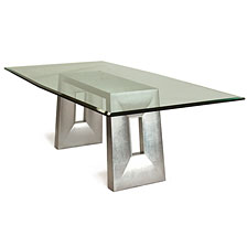 Temple Glass Top Table